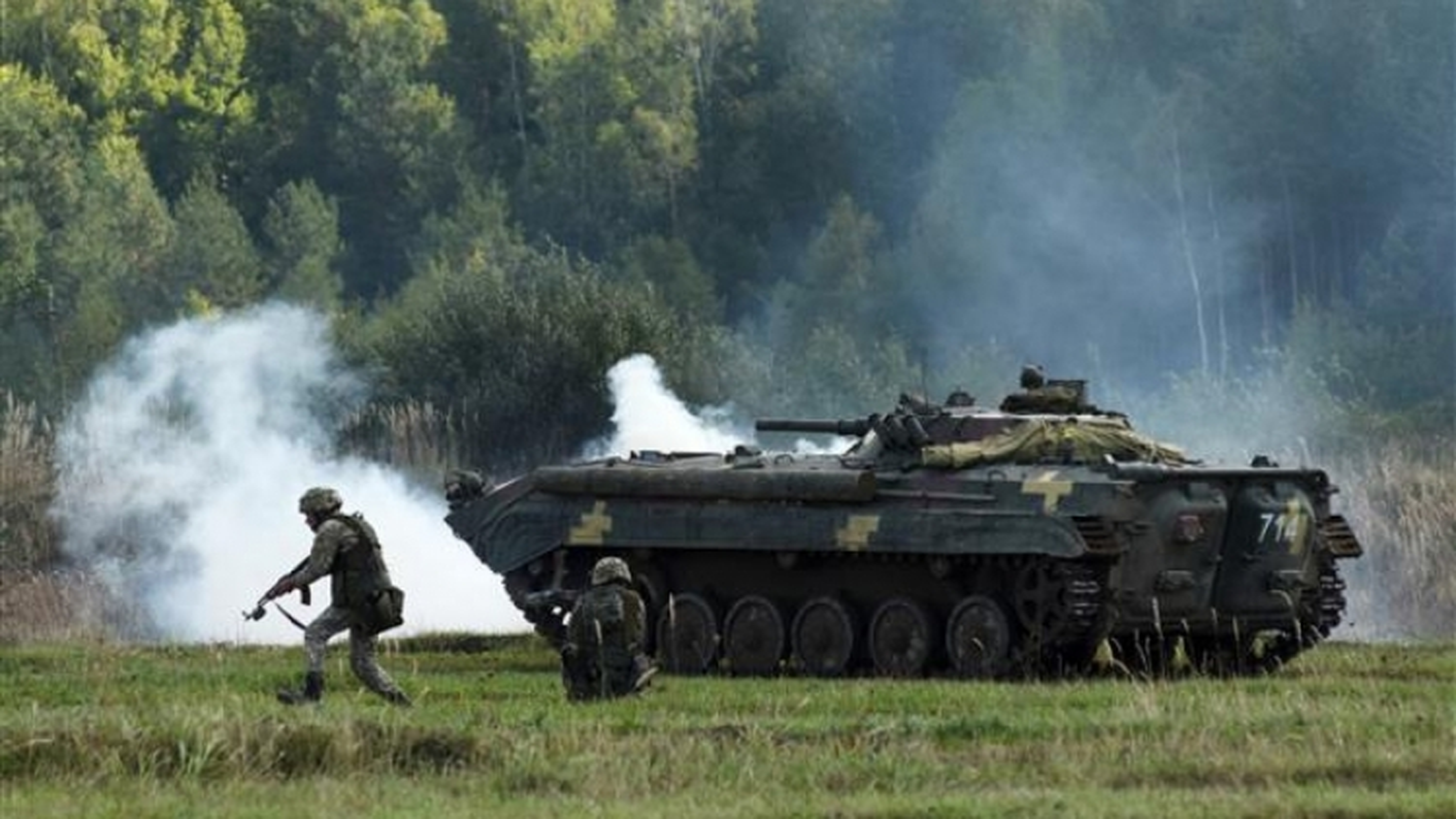 Ukraine tập trận quy mô lớn nhằm đáp trả Nga
