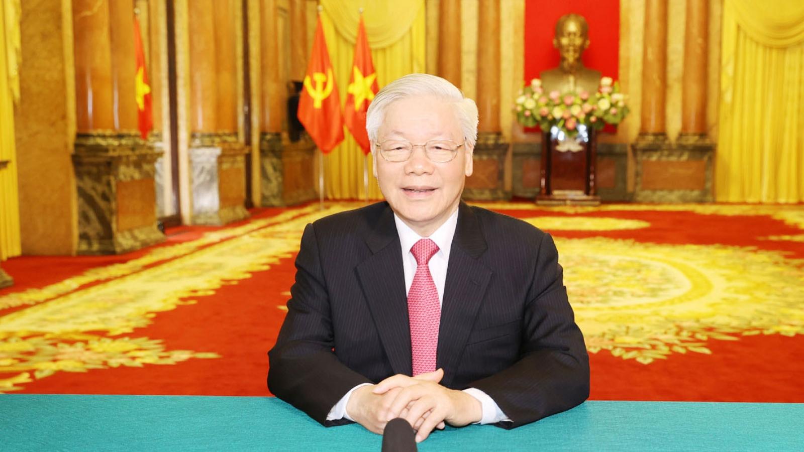 Tổng Bí thư, Chủ tịch nước gửi thông điệp tới Đại hội đồng Liên Hợp Quốc