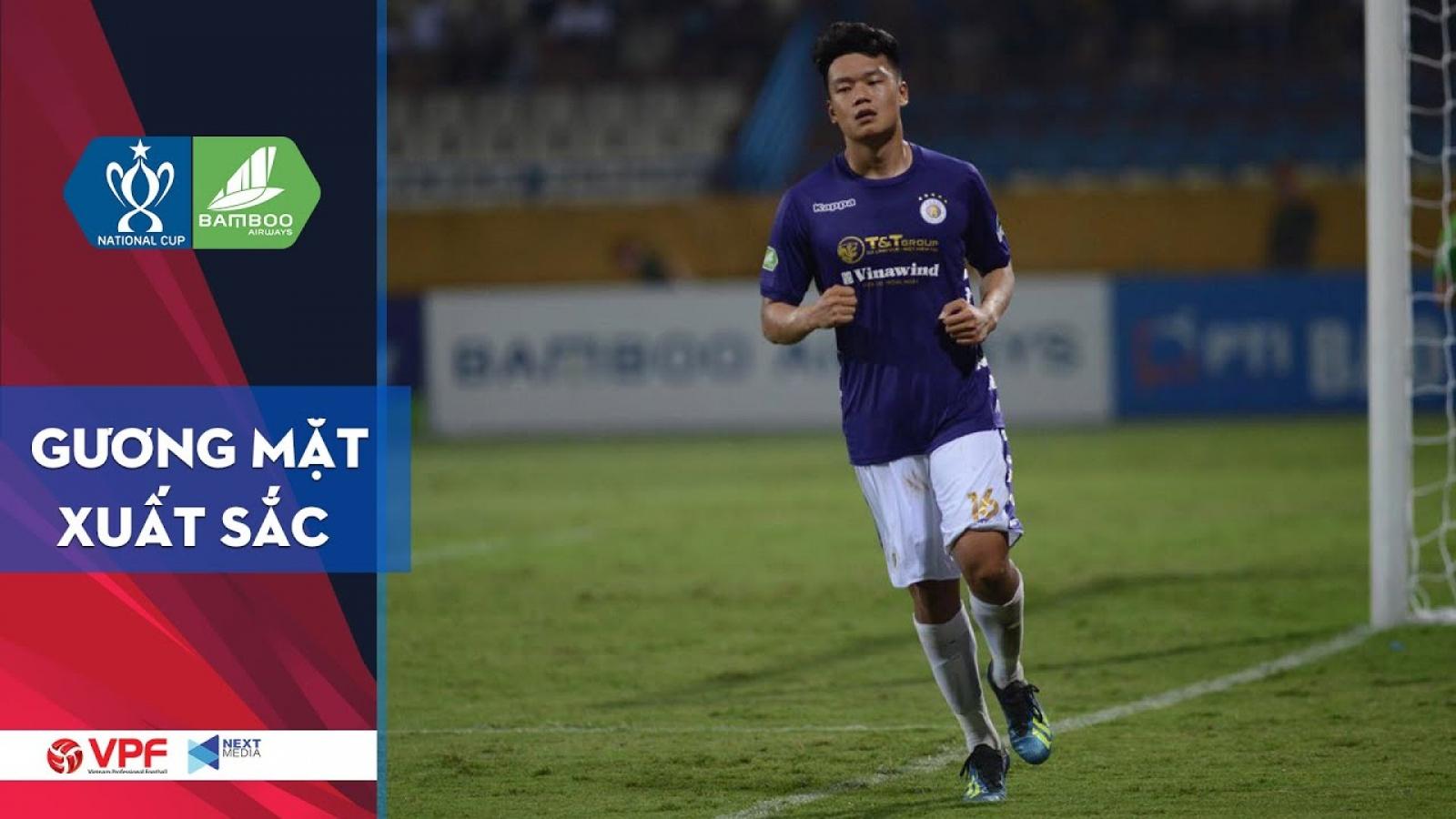 """""""Siêu tiền đạo"""" Thành Chung sẽ đưa Hà Nội FC vào bán kết Cúp Quốc gia?"""