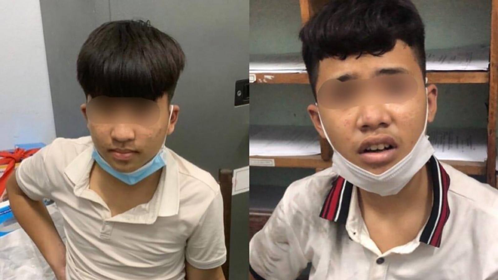 911 Đà Nẵng nổ súng khống chế nhóm thanh niên có hung khí