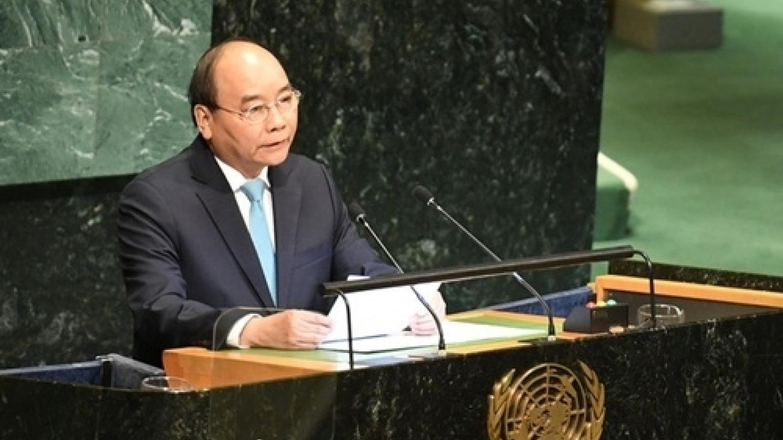 Toàn văn phát biểu của Thủ tướngtại phiên họp Cấp cao ĐHĐLHQ kỷ niệm 75 năm thành lập