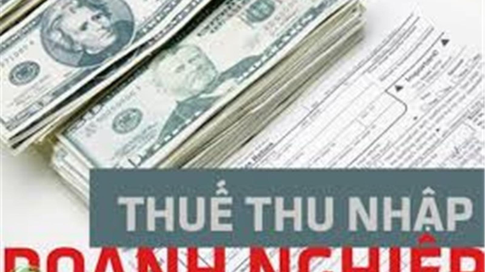 Chính thức giảm thuế TNDN phải nộp năm 2020