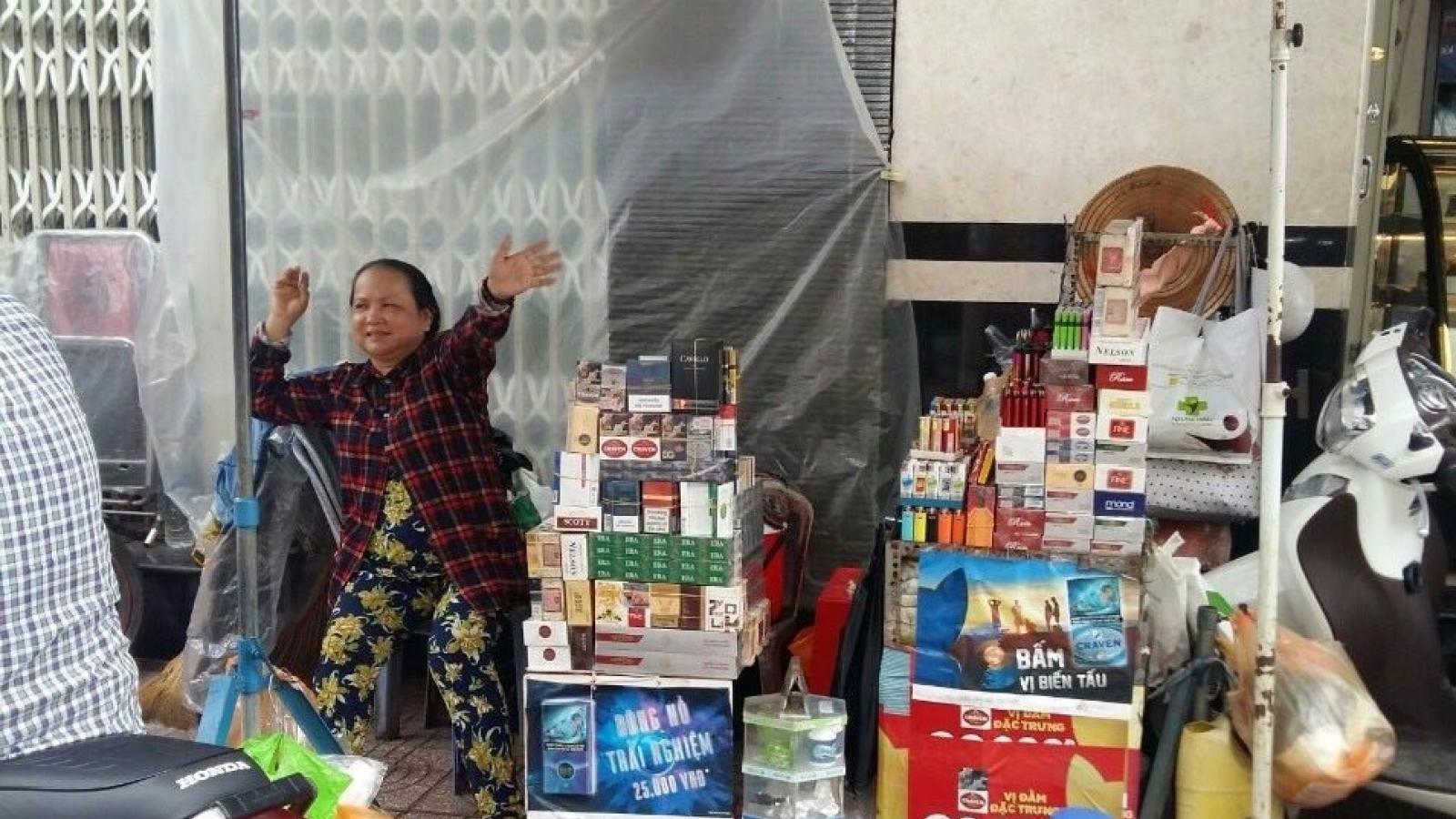Buôn bán 1 bao thuốc lá nhập lậu bị phạt tới 3 triệu đồng