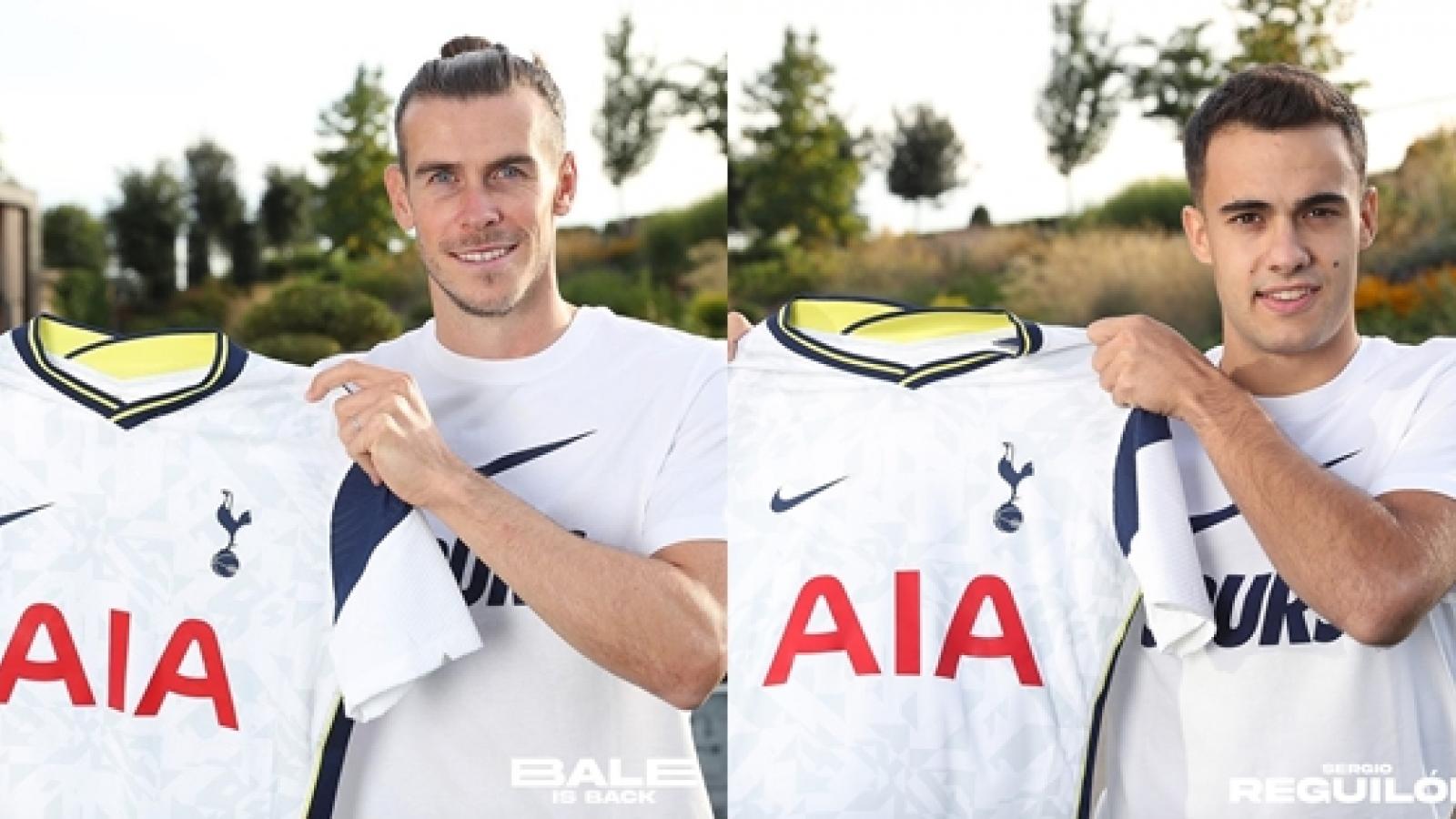 Gareth Bale và Sergio Reguilon chính thức ra mắt Tottenham