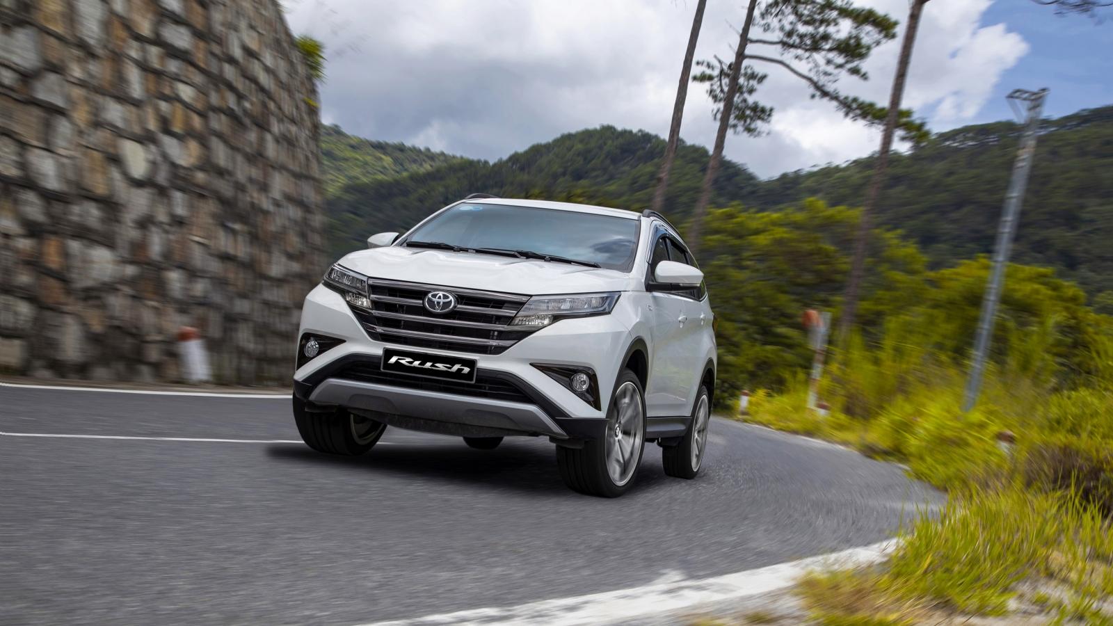 Toyota Rush mới rẻ hơn 35 triệu đồng so với phiên bản cũ