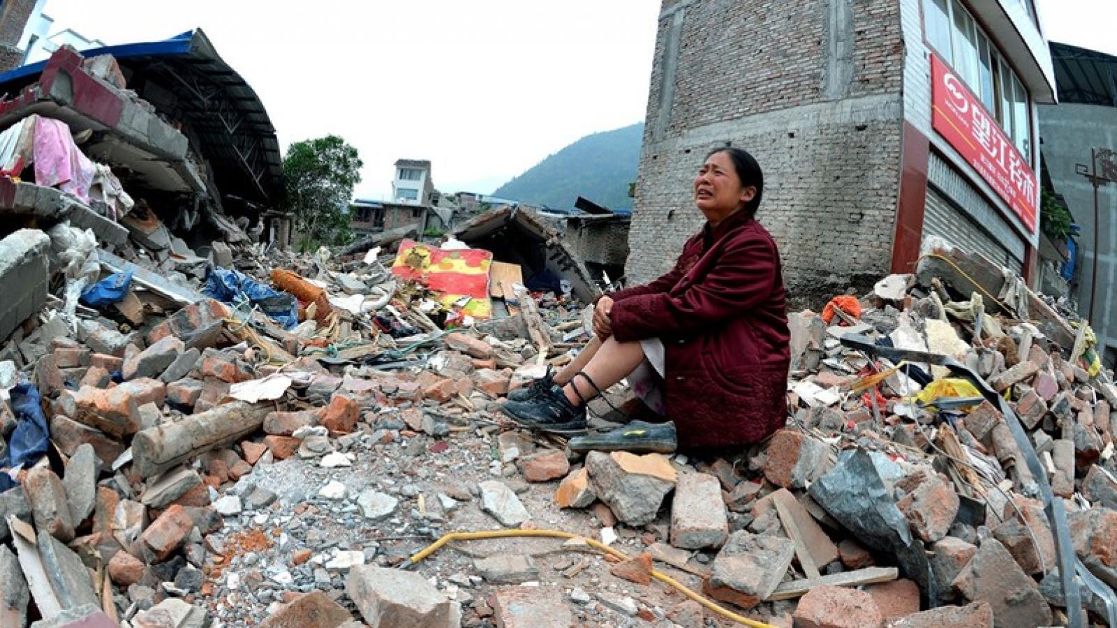 Trung Quốc xảy ra hơn 400 trận động đất trên 3 độ từ đầu năm đến nay