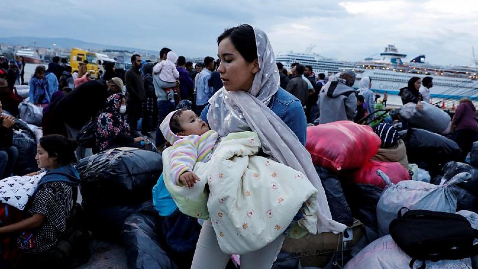 Hy Lạp kêu gọi EU có trách nhiệm hơn với vấn đề di cư của khối