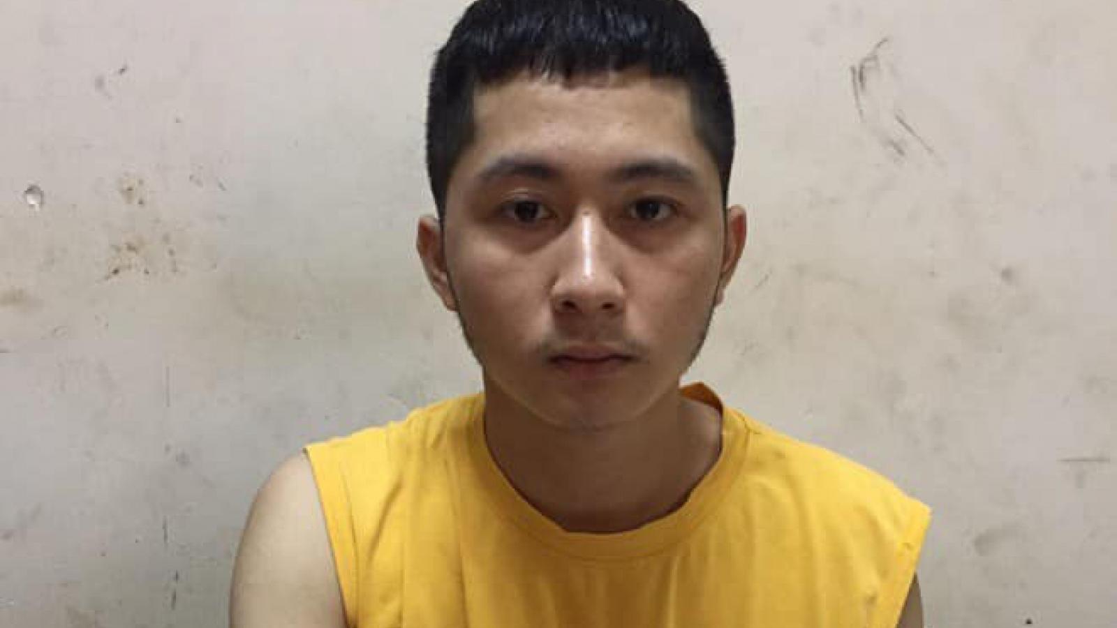 Bắt đối tượng thực hiện 15 vụ trộm tại Trung tâm thương mại Aeon Long Biên