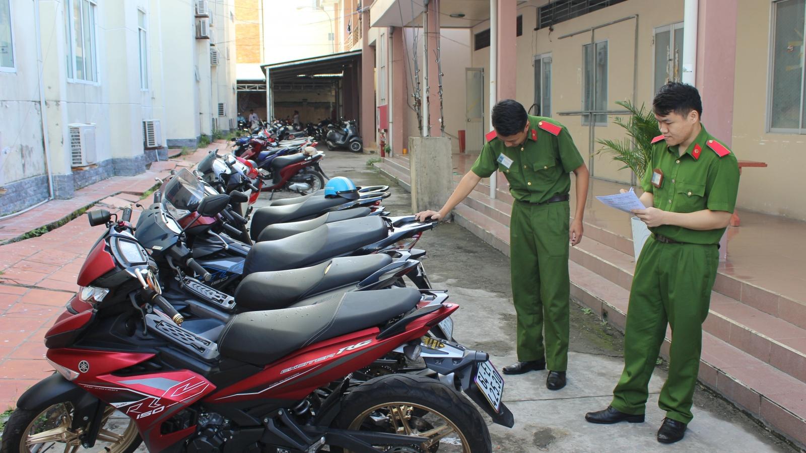 Cần Thơ: Bắt nhóm đối tượng trộm cắp xe máy liên tỉnh