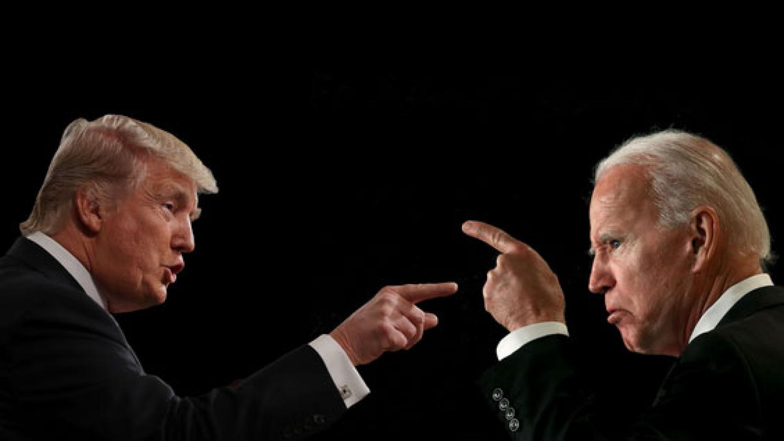 Bầu cử Mỹ: ông Donald Trump và ông Joe Biden đối đầu trong cuộc tranh luận đầu tiên