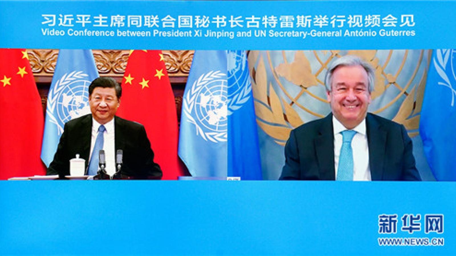 Ông Tập Cận Bình: Trung Quốc không chủ trương đối kháng và tách rời