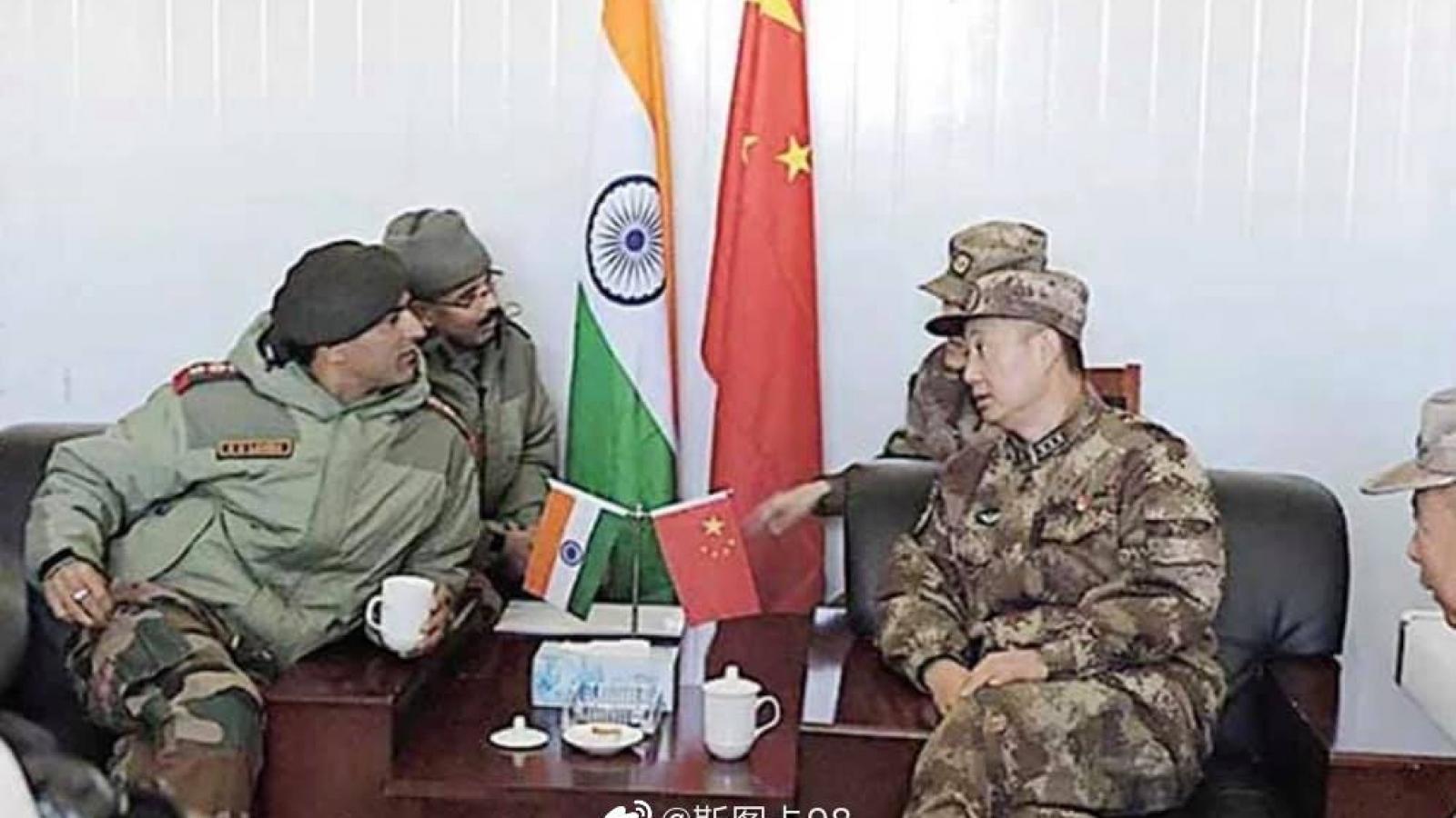 Trung - Ấn đạt được đồng thuận không tăng thêm quân tại khu vực tuyến đầu