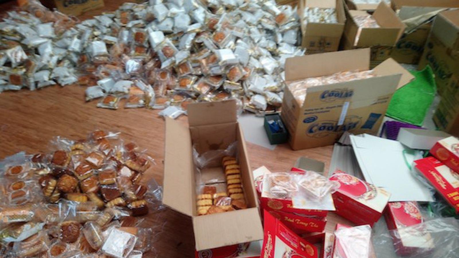 Hà Nội phát hiện nhiều cơ sở sản xuất bánh trung thu vi phạm quy định ATVSTP
