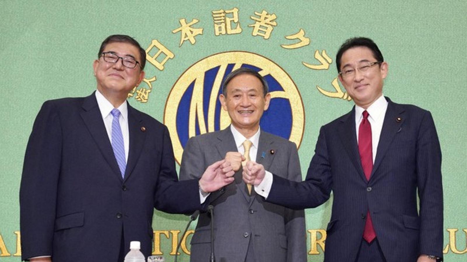 Cuối cuộc đua, ứng cử viên nào nổi nhất cho chức Thủ tướng Nhật Bản?