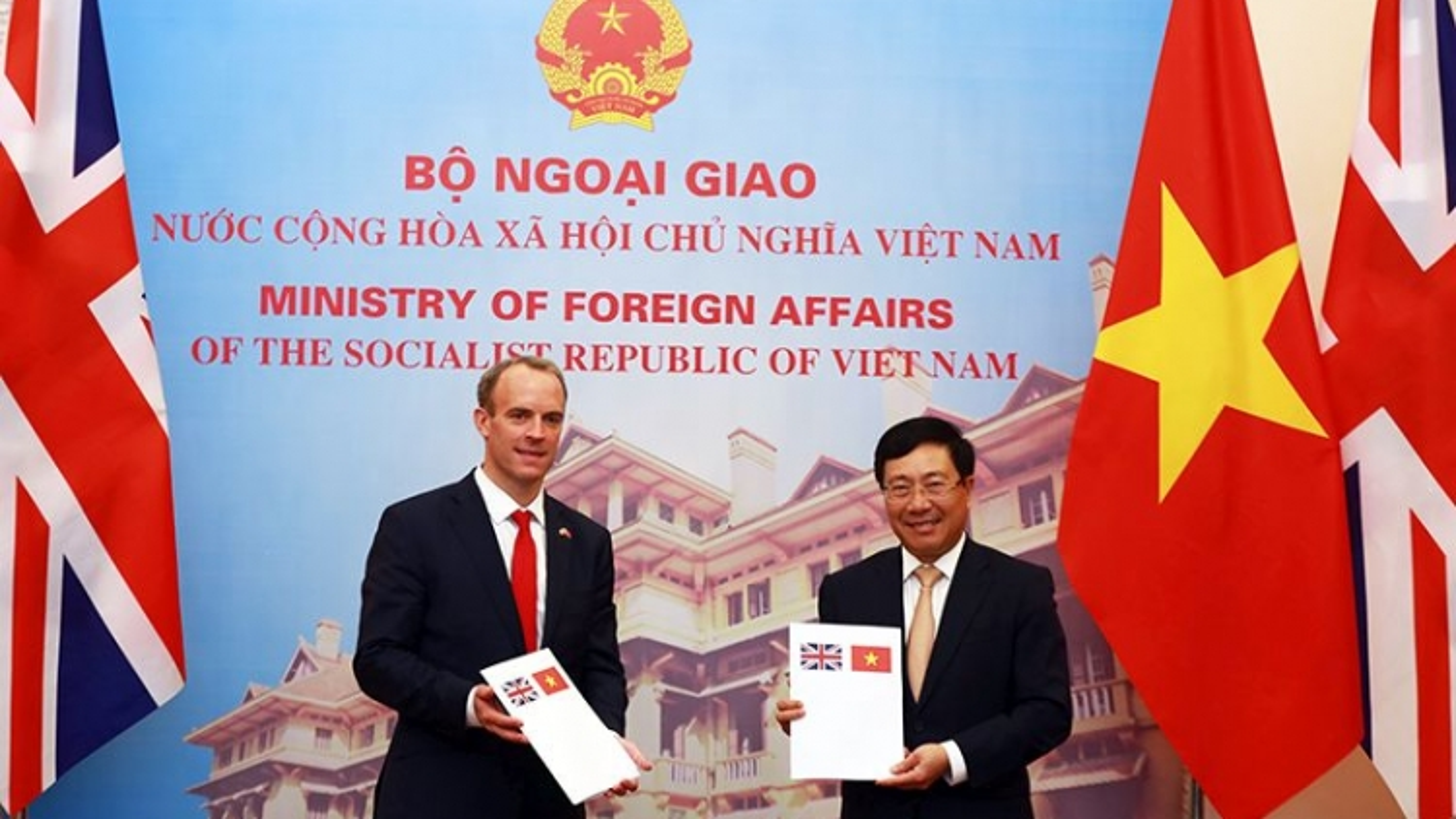 Tuyên bố chung về Quan hệ Đối tác chiến lược Việt Nam - Vương quốc Anh