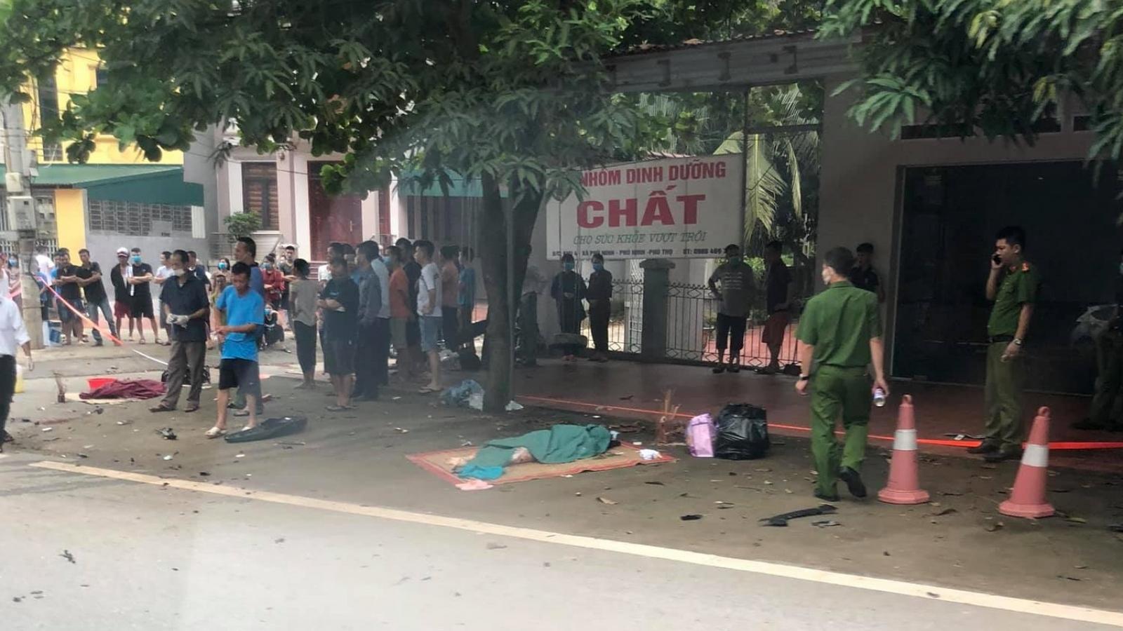 Xác định danh tính 3 người phụ nữ tử vong sau tai nạn ở Phù Ninh, Phú Thọ