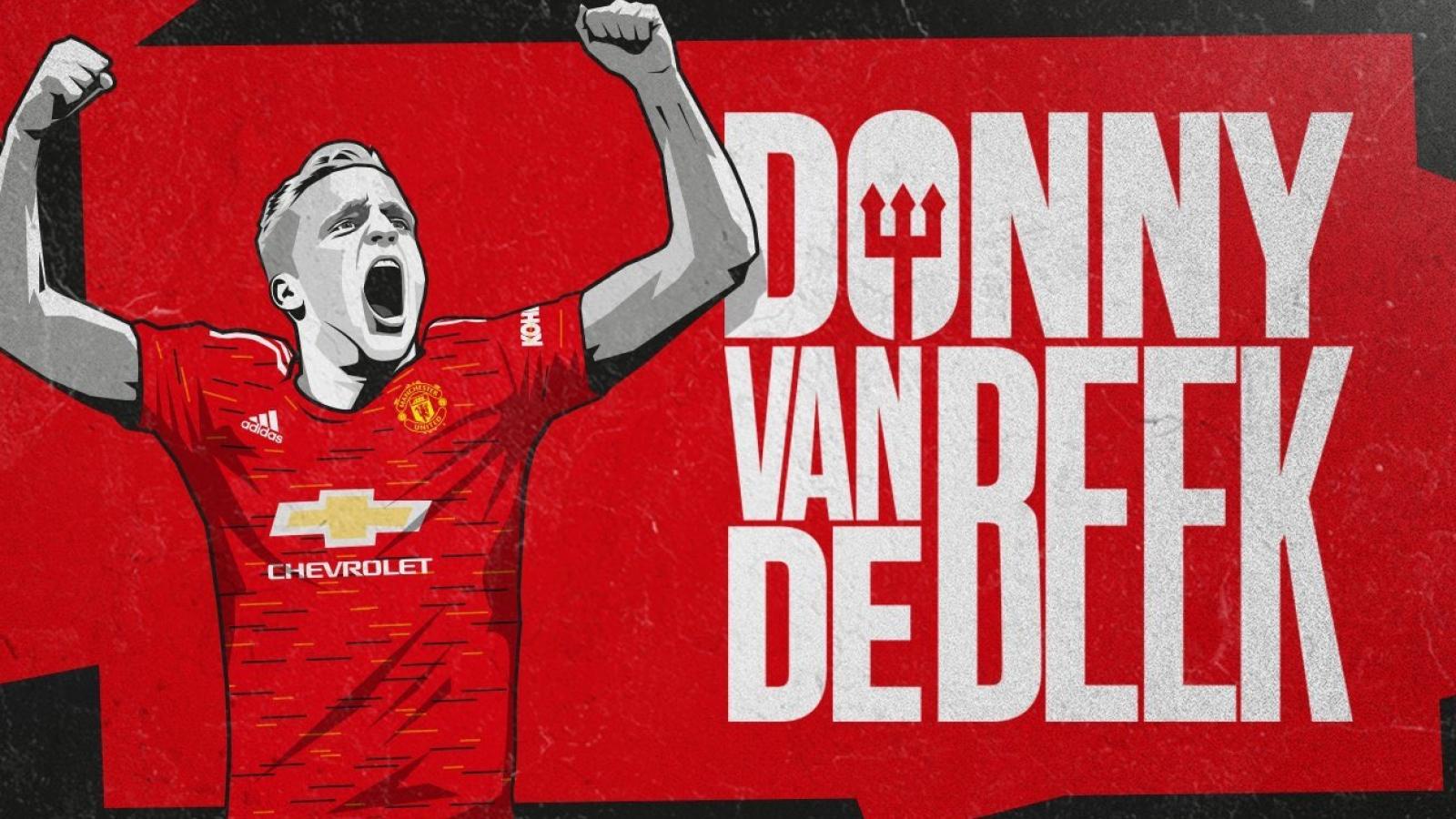 Van De Beek là món hời của MU trên thị trường chuyển nhượng
