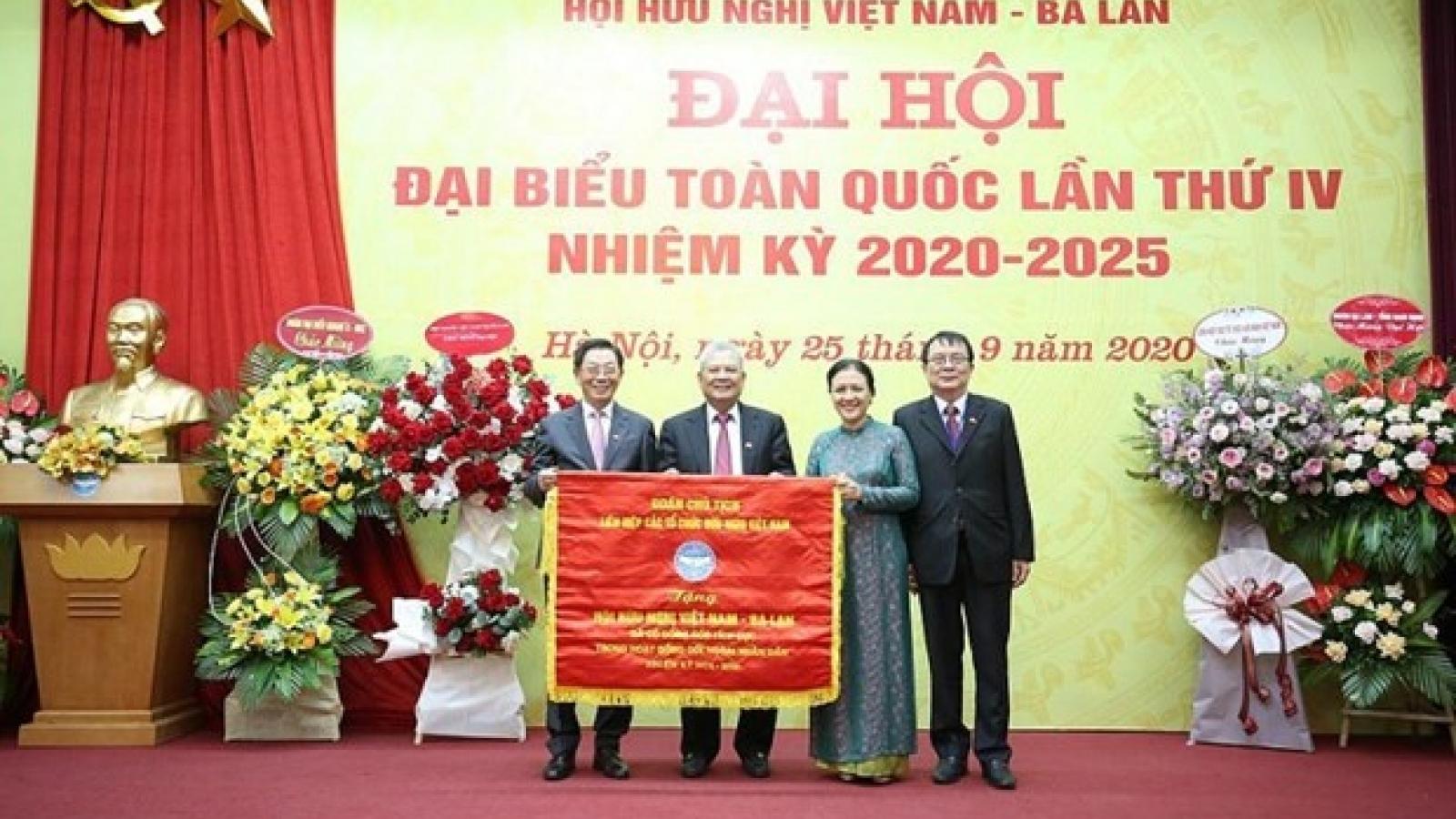 Vietnam-Poland Friendship Association holds fourth congress