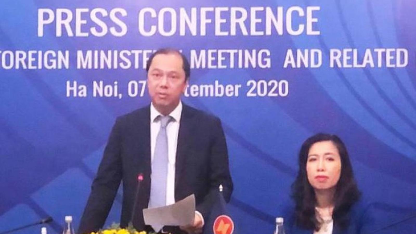 Các Bộ trưởng Ngoại giao ASEAN kỳ vọng gì vào AMM lần thứ 53?