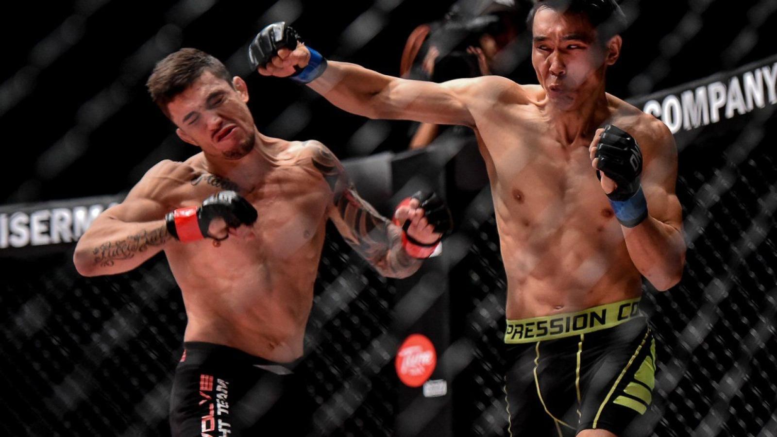 VIDEO: Những đòn knock-out siêu tốc trên sàn đấu võ tự do