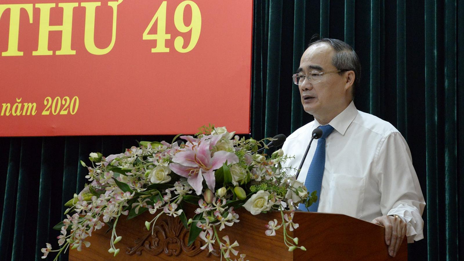 """Bí thư Thành ủy Nguyễn Thiện Nhân: """"Lãnh đạo phải thực tế, nhìn thẳng vào khó khăn"""""""