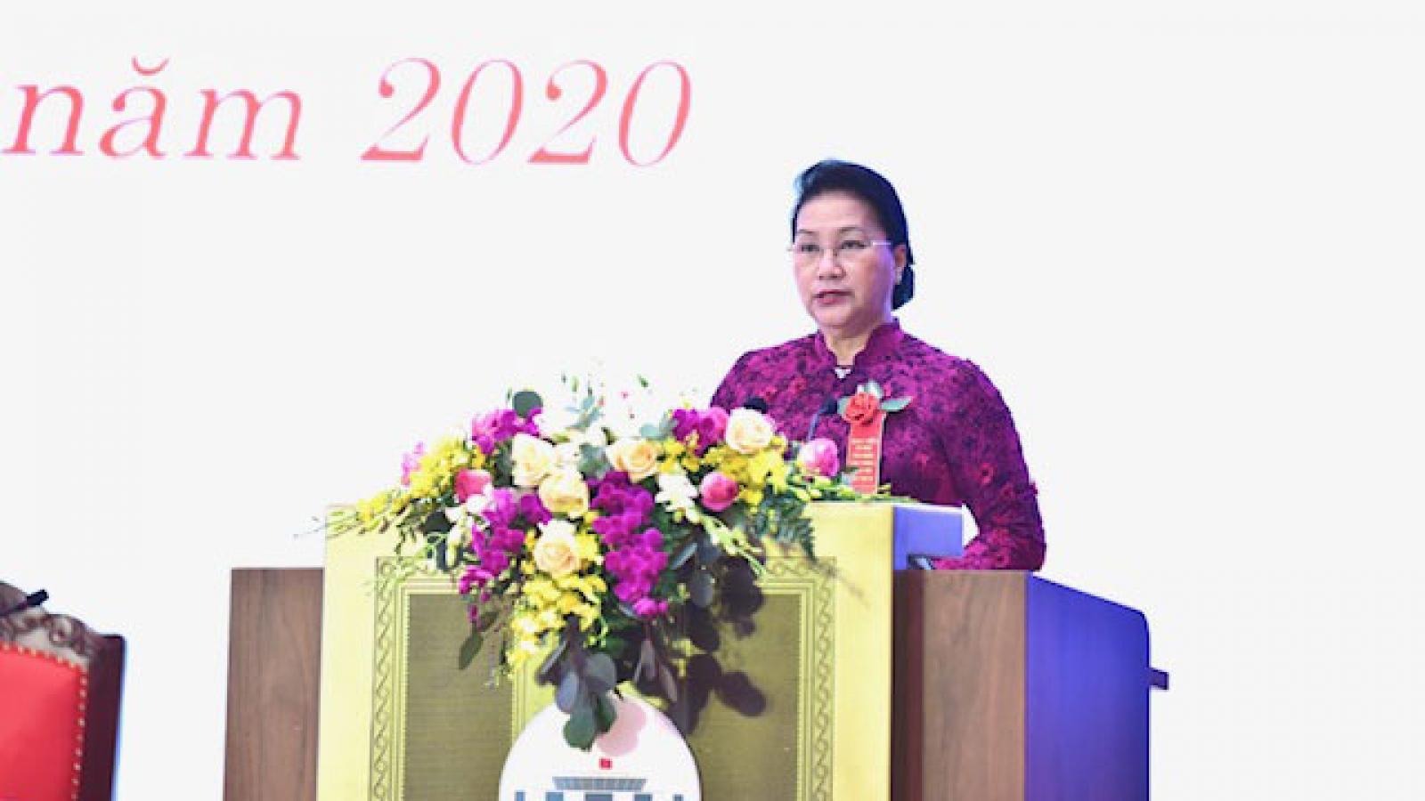 Chủ tịch Quốc hội dự Đại hội Thi đua yêu nước của Văn phòng Quốc hội