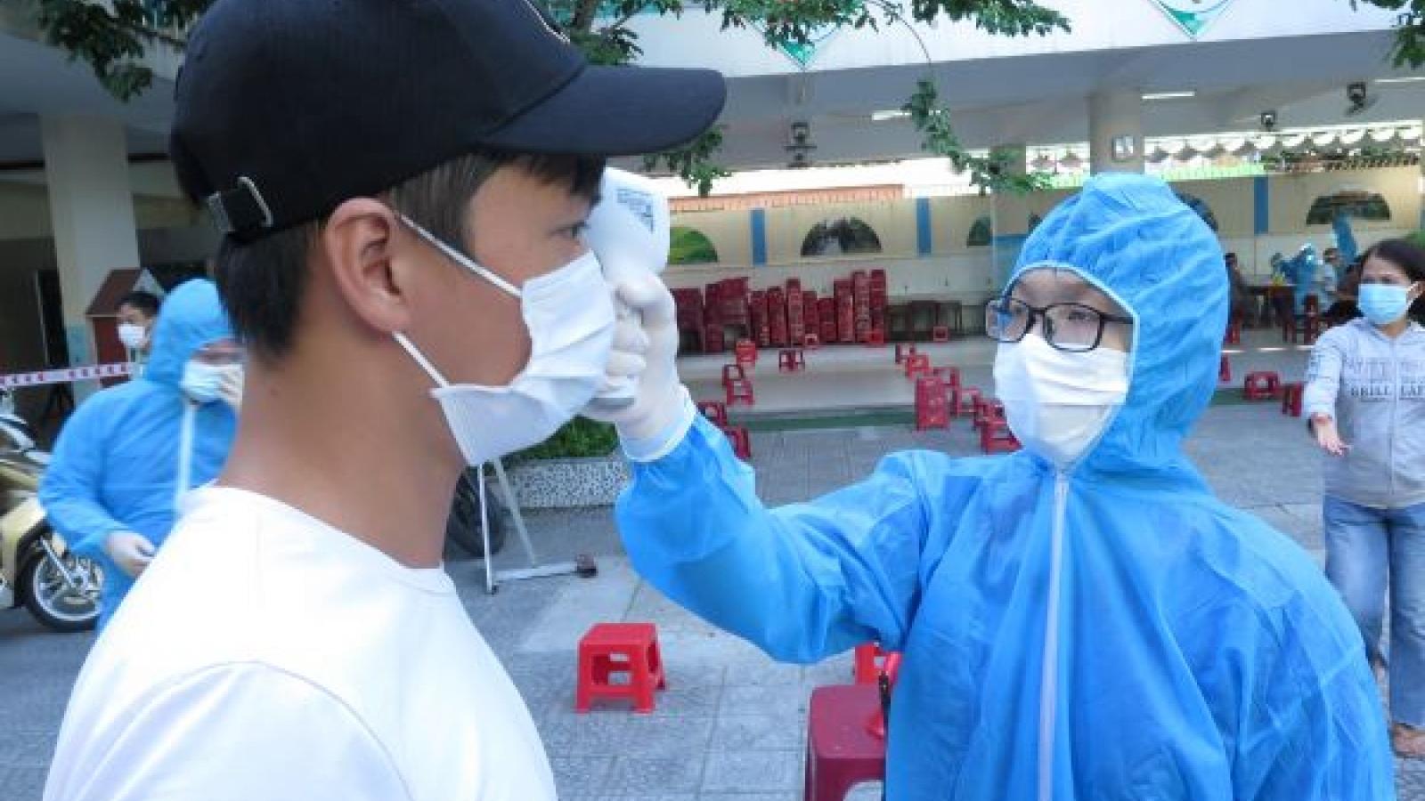 Đà Nẵng xét nghiệm diện rộng cho 71.000 hộ dân