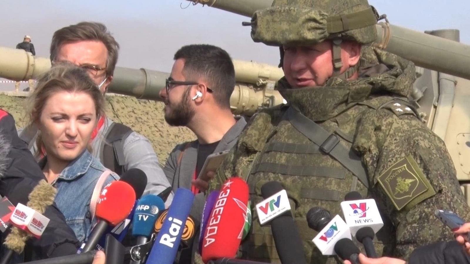 Lính dù Nga phô diễn kỹ năng tác chiến tại tập trận Kavkaz-2020