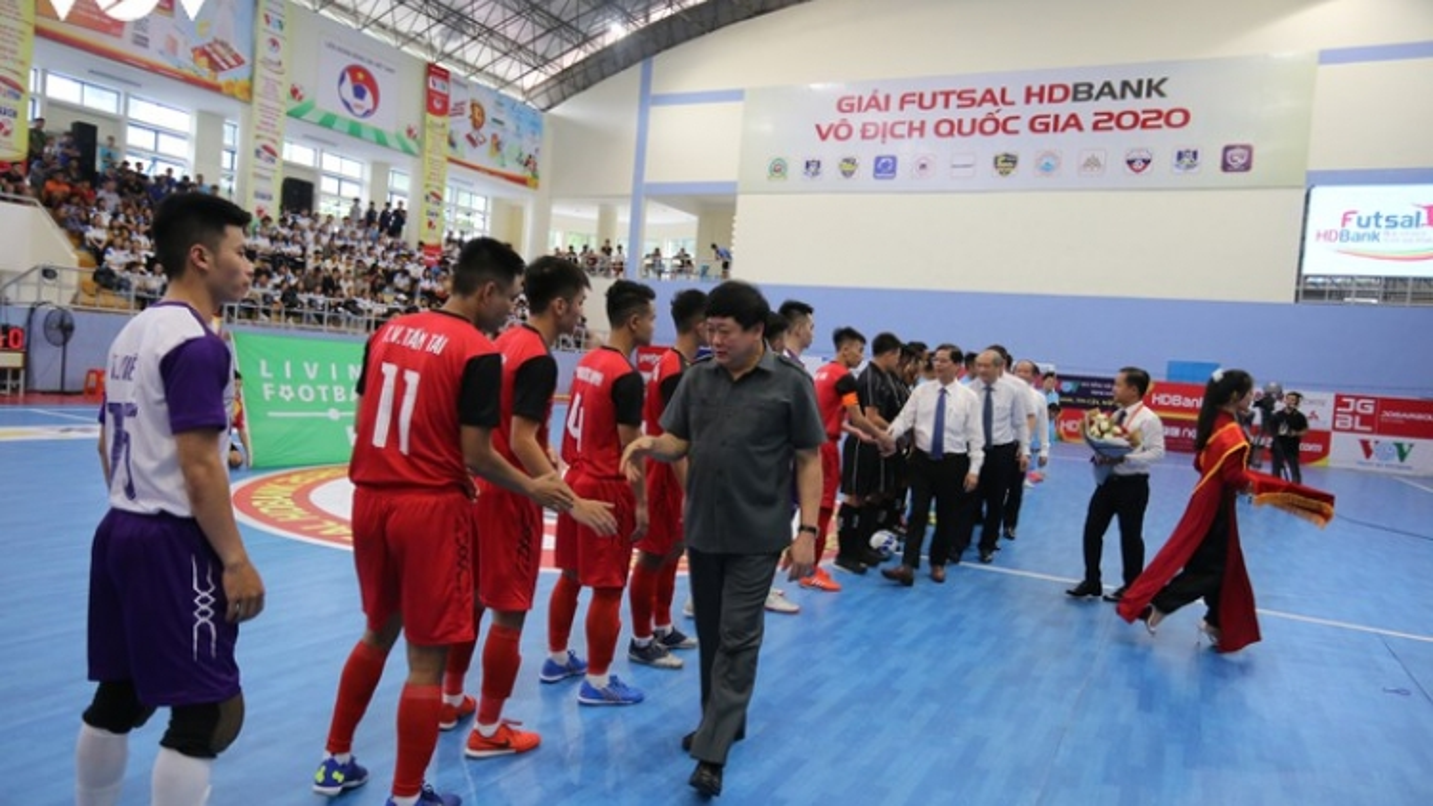 Khởi tranh lượt về giai đoạn II giải Futsal HDBank VĐQG 2020