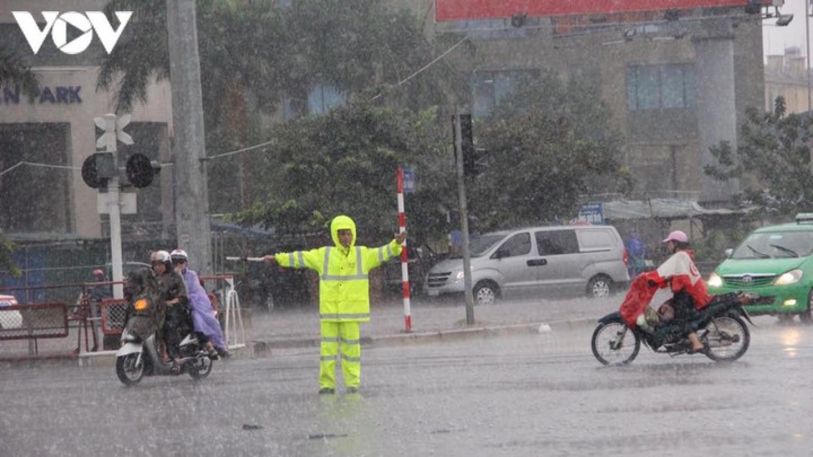 Dự báo thời tiết hôm nay: Hà Nội có mưa rào