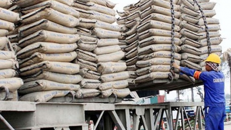 Cement exports enjoy surge over eight-month period