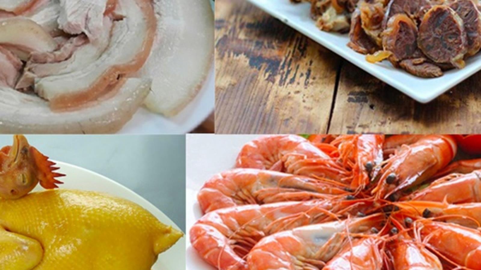 Cách luộc thịt heo, gà và hải sản giữ nguyên chất dinh dưỡng