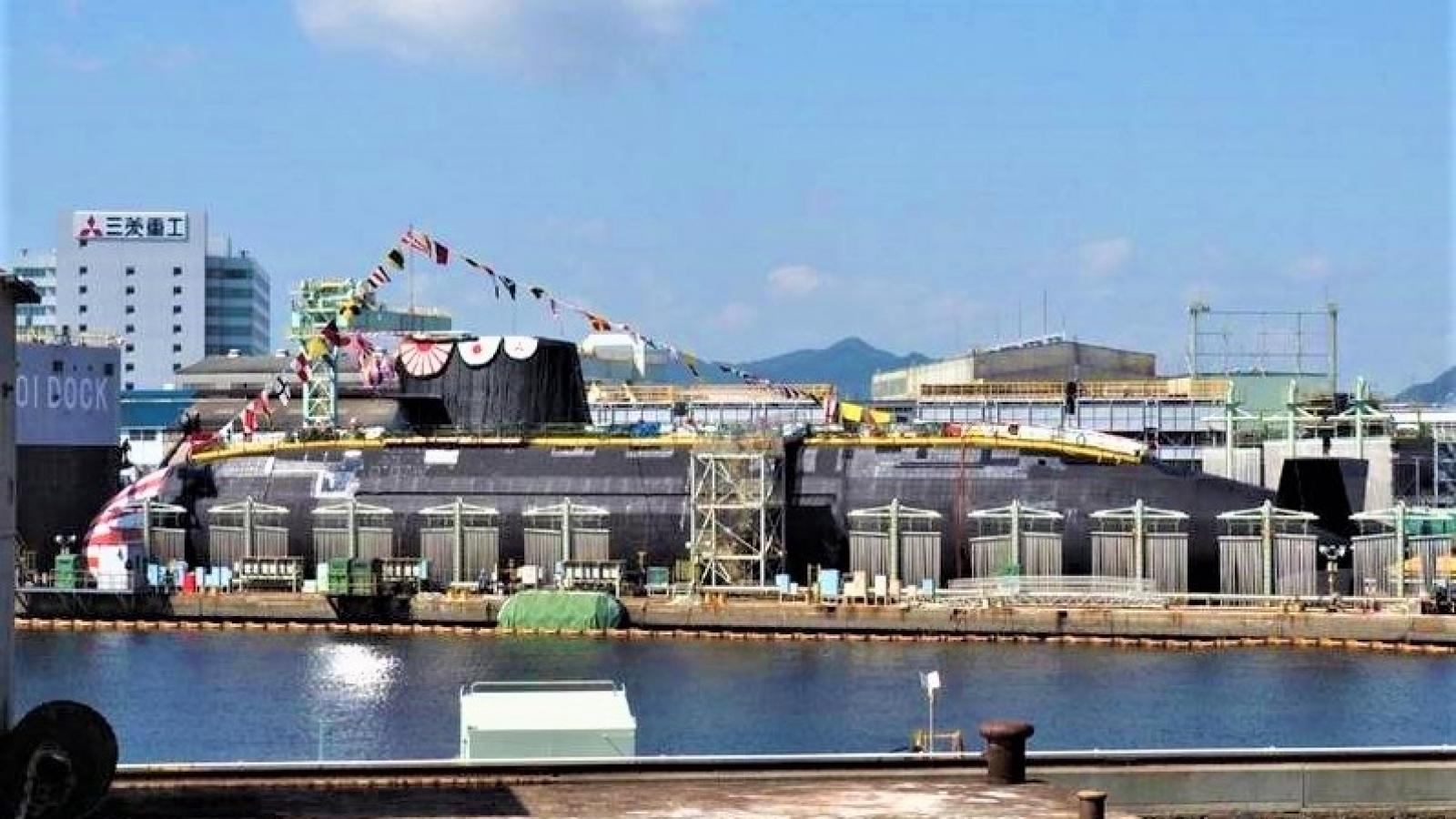 """""""Soi"""" sức mạnh tàu ngầm phi hạt nhân tàng hình thế hệ mới Taigei của Nhật Bản"""