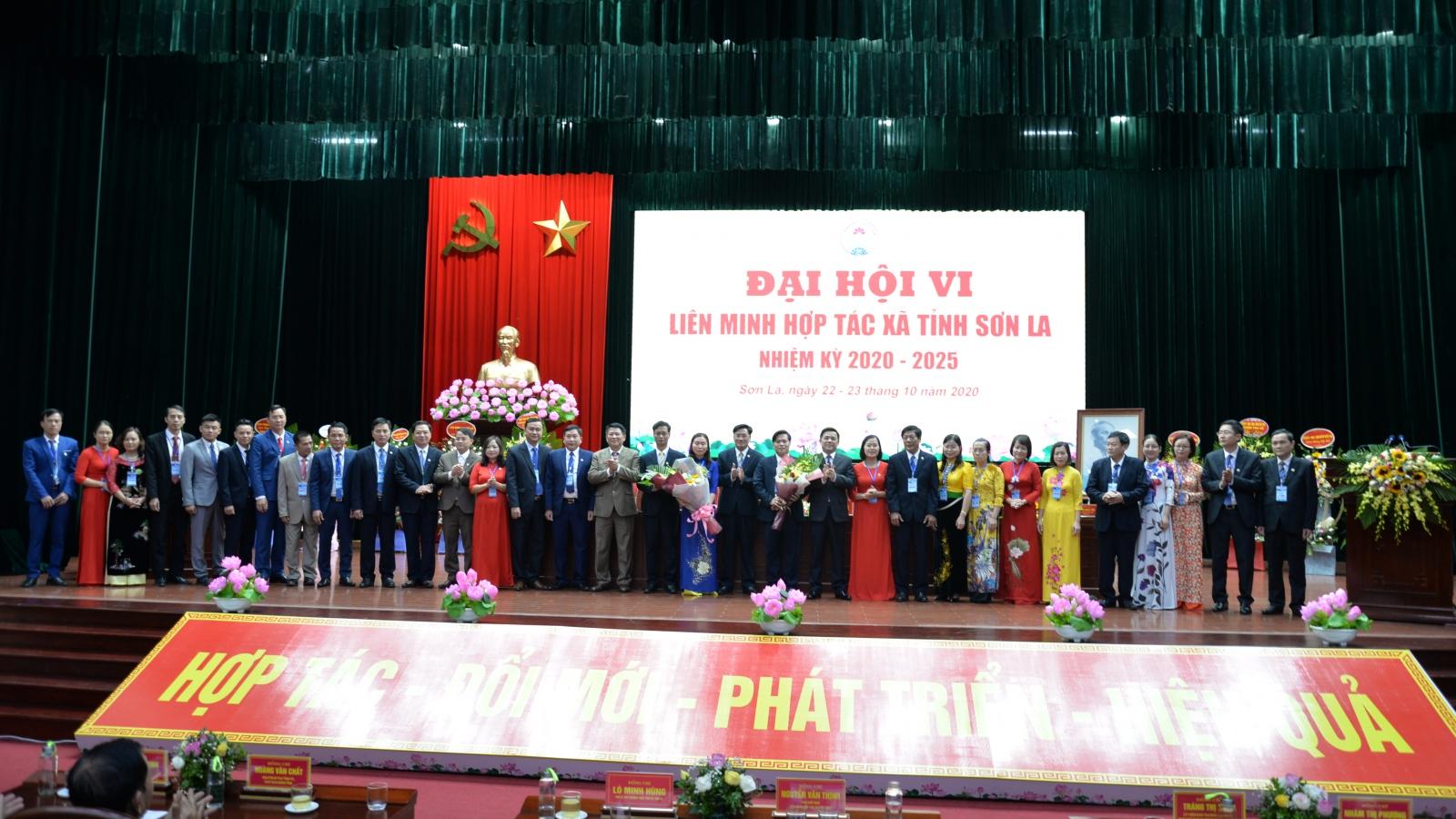 Ông Lê Tiến Lợi tái cử chức Chủ tịch Liên minh HTX tỉnh Sơn La