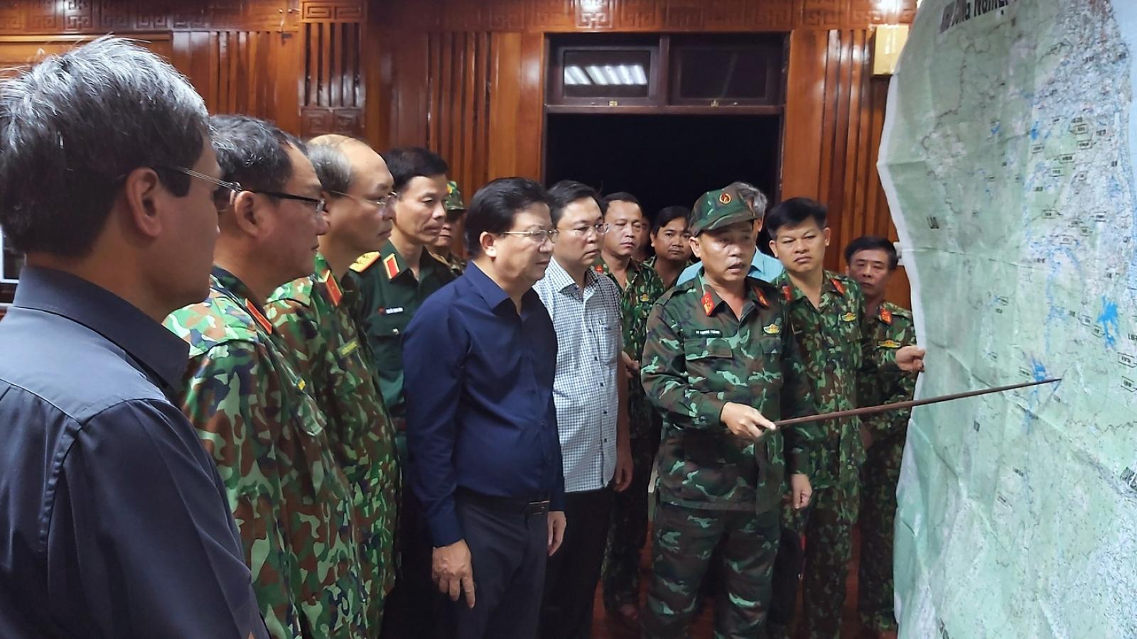 55 người mất tích do sạt lở đất, lập Sở Chỉ huy tiền phương tại Nam Trà My