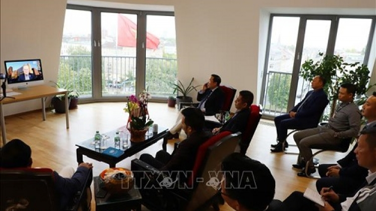 Teleconference discusses Vietnam-Germany trade promotion