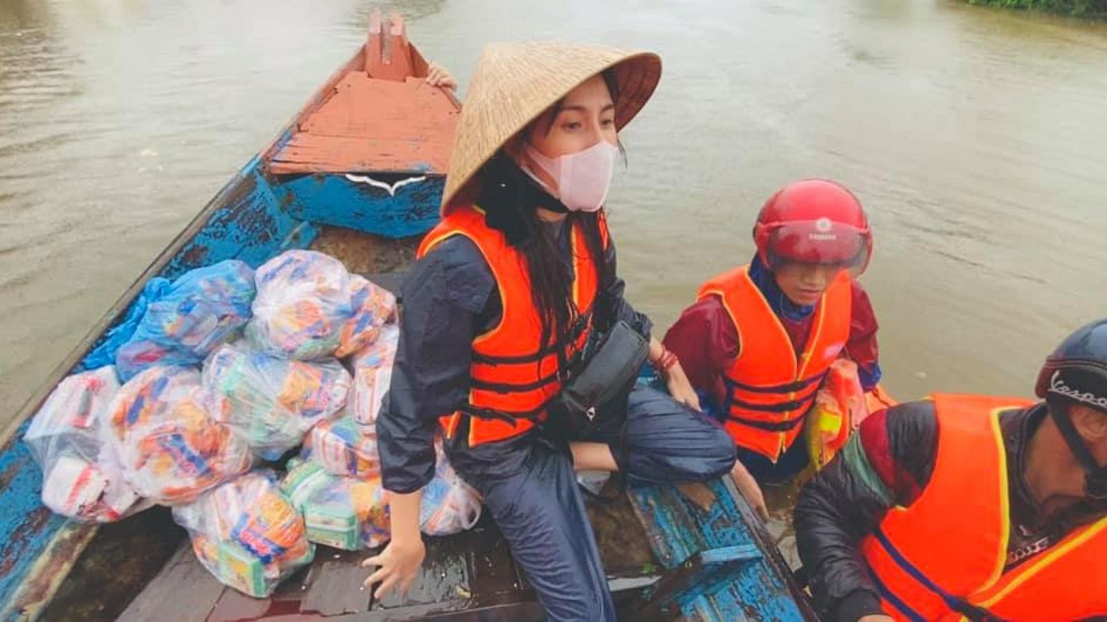 Thủy Tiên công bố quyên góp được 100 tỷ đồng cứu trợ miền Trung