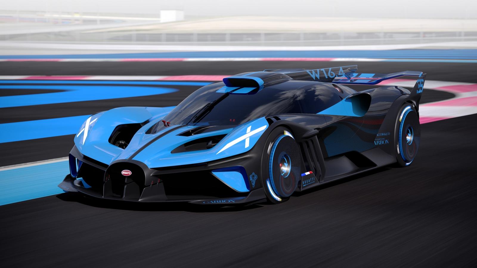 Khám phá siêu phẩm đường đua Bugatti Bolide
