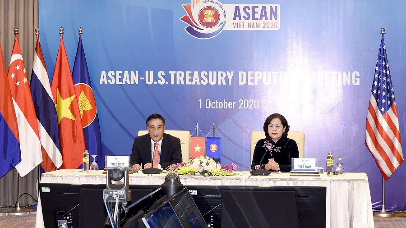 Đối thoại hợp tác tài chính – ngân hàng giữa ASEAN và Hoa Kỳ