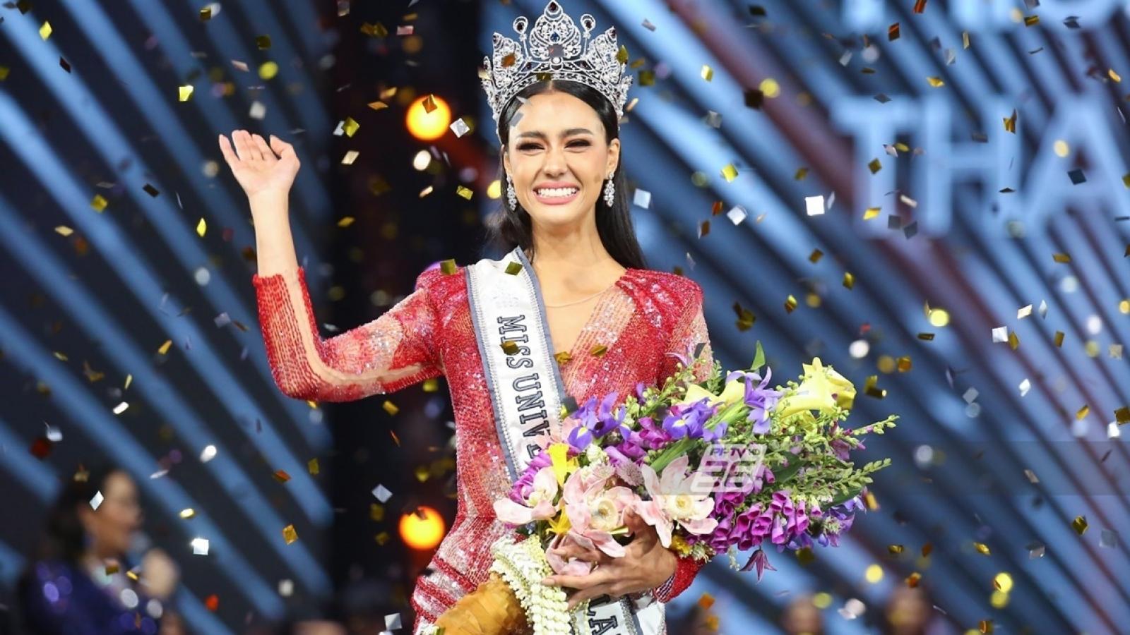 Nhan sắc hút hồn của tân Hoa hậu Hoàn vũ Thái Lan 2020
