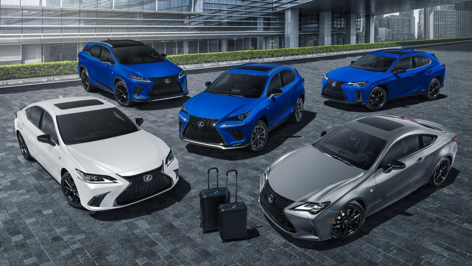 Lexus UX 2021 phiên bản giới hạn Black Line chính thức được ra mắt