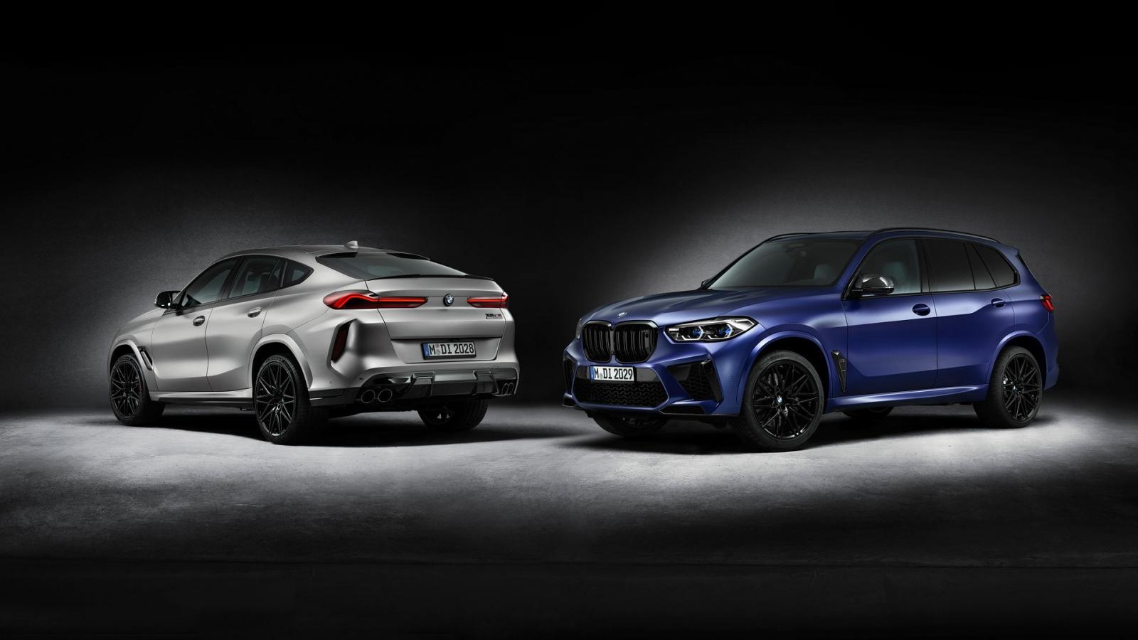 BMW ra mắt bộ đôi X5 M và X6 M Competition First Edition giới hạn 250 chiếc