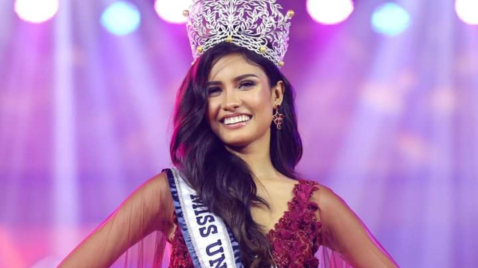 Ngắm nhan sắc người đẹp lai đăng quang Hoa hậu Hoàn vũ Philippines 2020