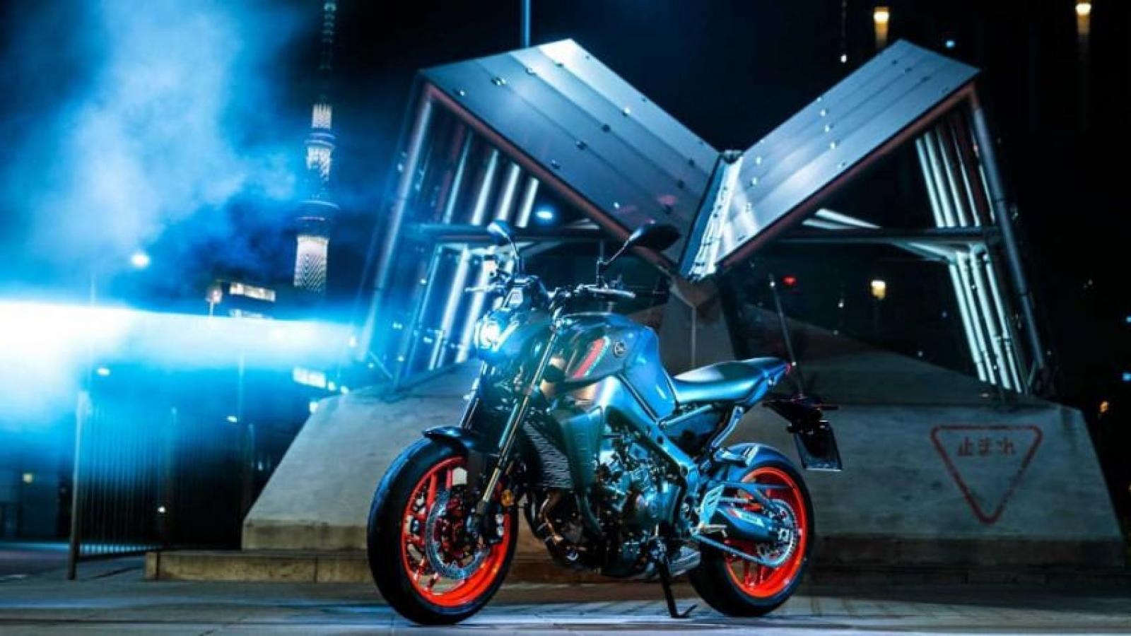 Yamaha MT-09 2021 mới ra mắt với nhiều cải tiến đáng mong chờ