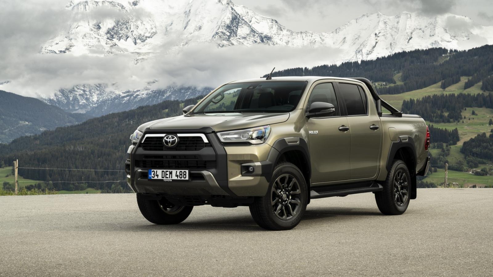 Toyota Hilux 2020 bản nâng cấp dành cho châu Âu có gì khác biệt?