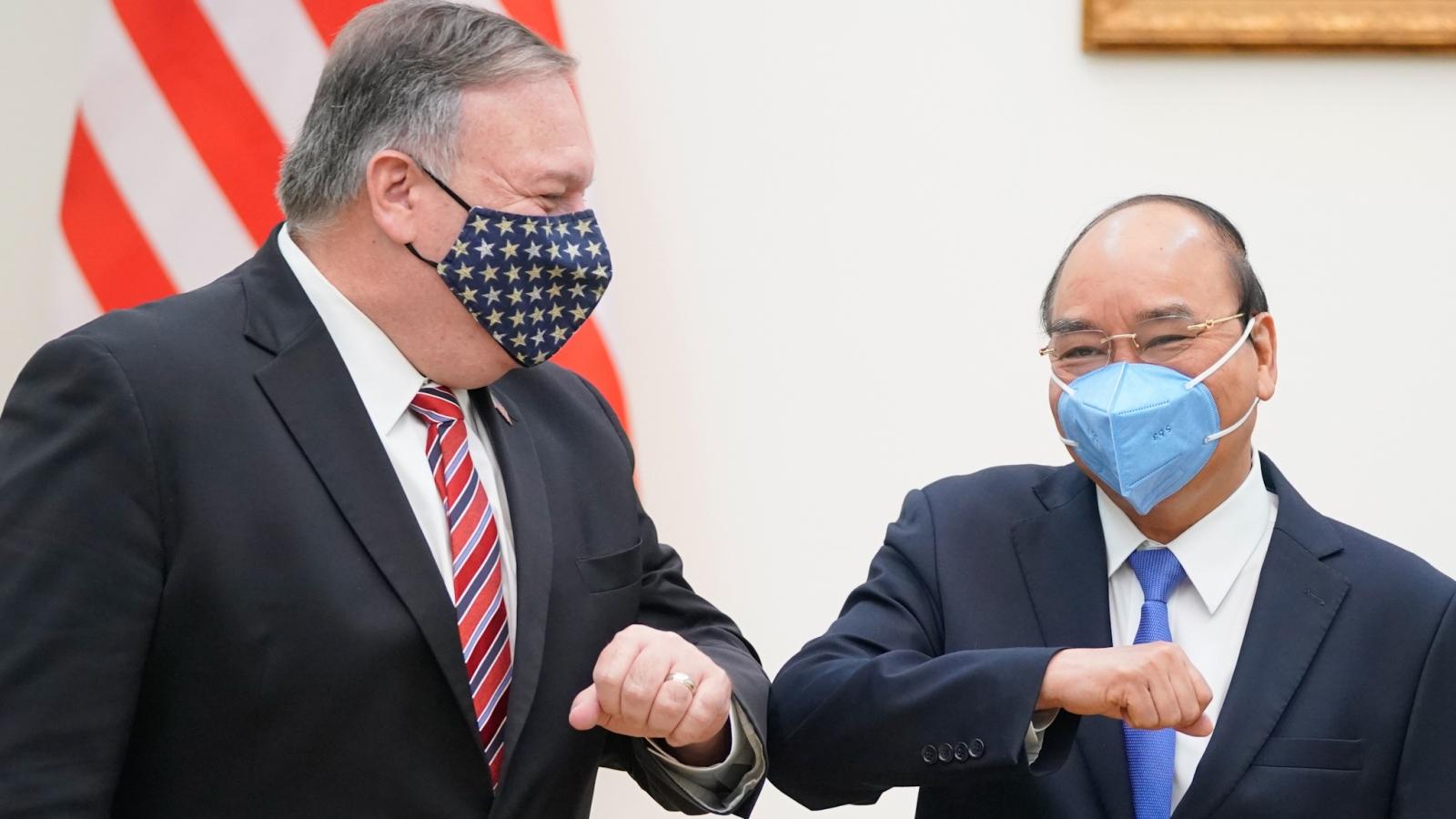 Thủ tướng Nguyễn Xuân Phúc tiếp Ngoại trưởng Hoa KỳPompeo