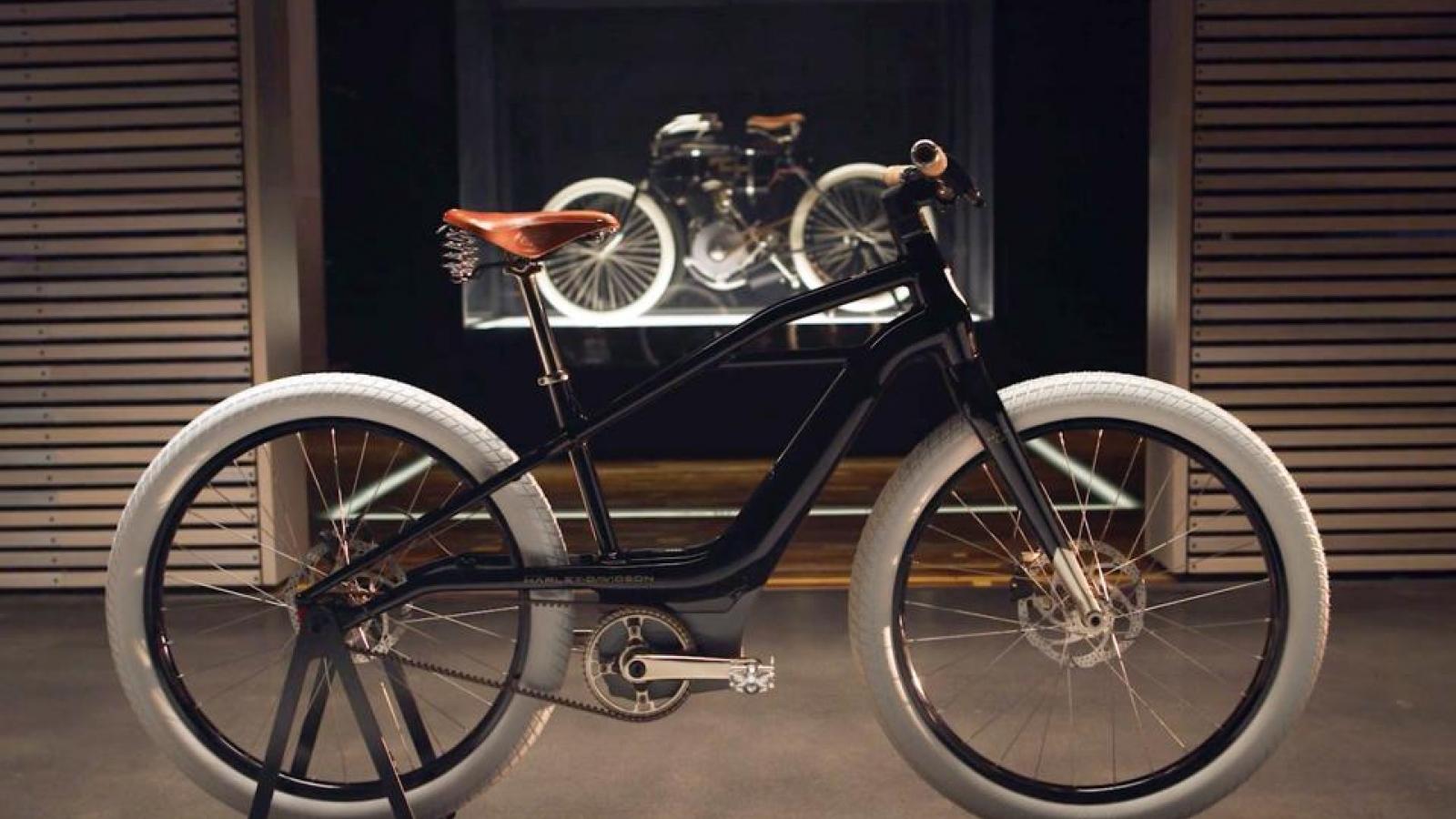 Harley-Davidson sắp ra mắt xe đạp điện giá từ 2.500 USD