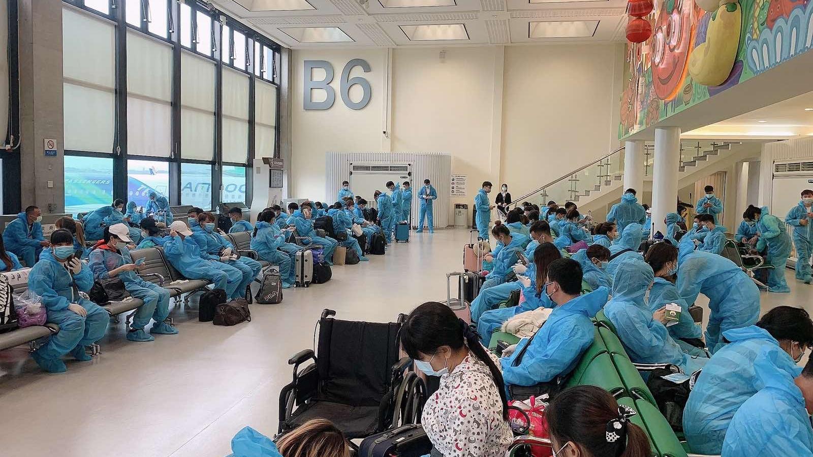 Đưa 350 công dân Việt Nam từ Đài Loan (Trung Quốc) về nước
