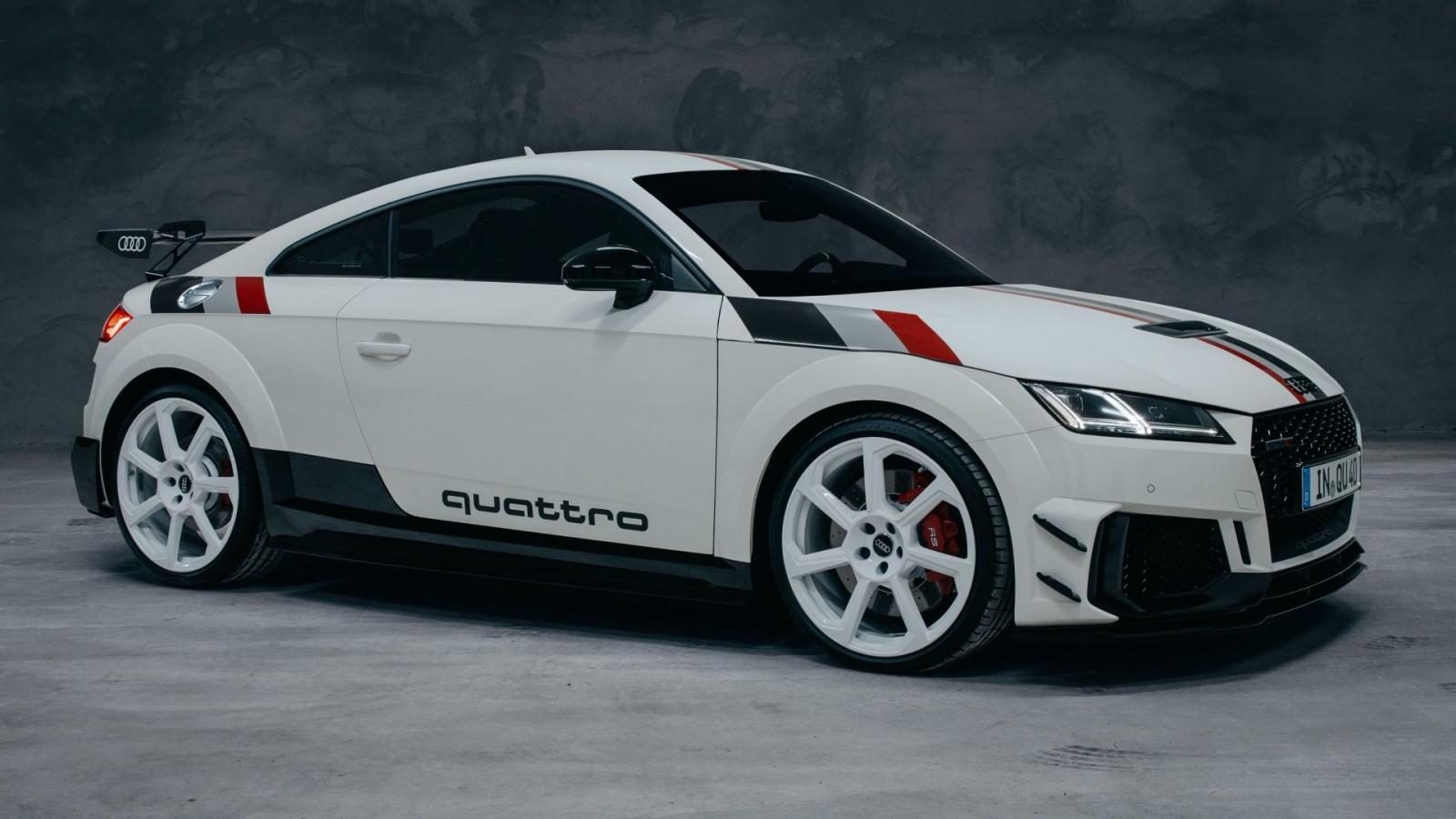 Audi kỷ niệm 40 năm ngày ra mắt hệ dẫn động quattro với bản đặc biệt của TT RS