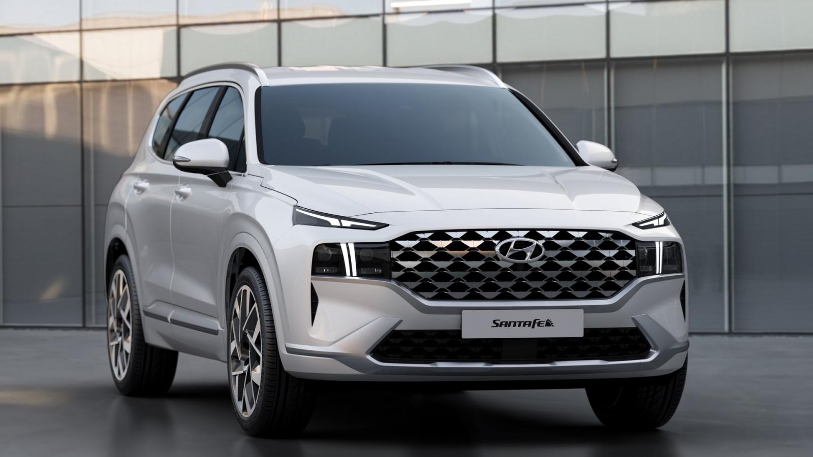 Hyundai Santa Fe 2021 có 4 loại động cơ tại Mỹ